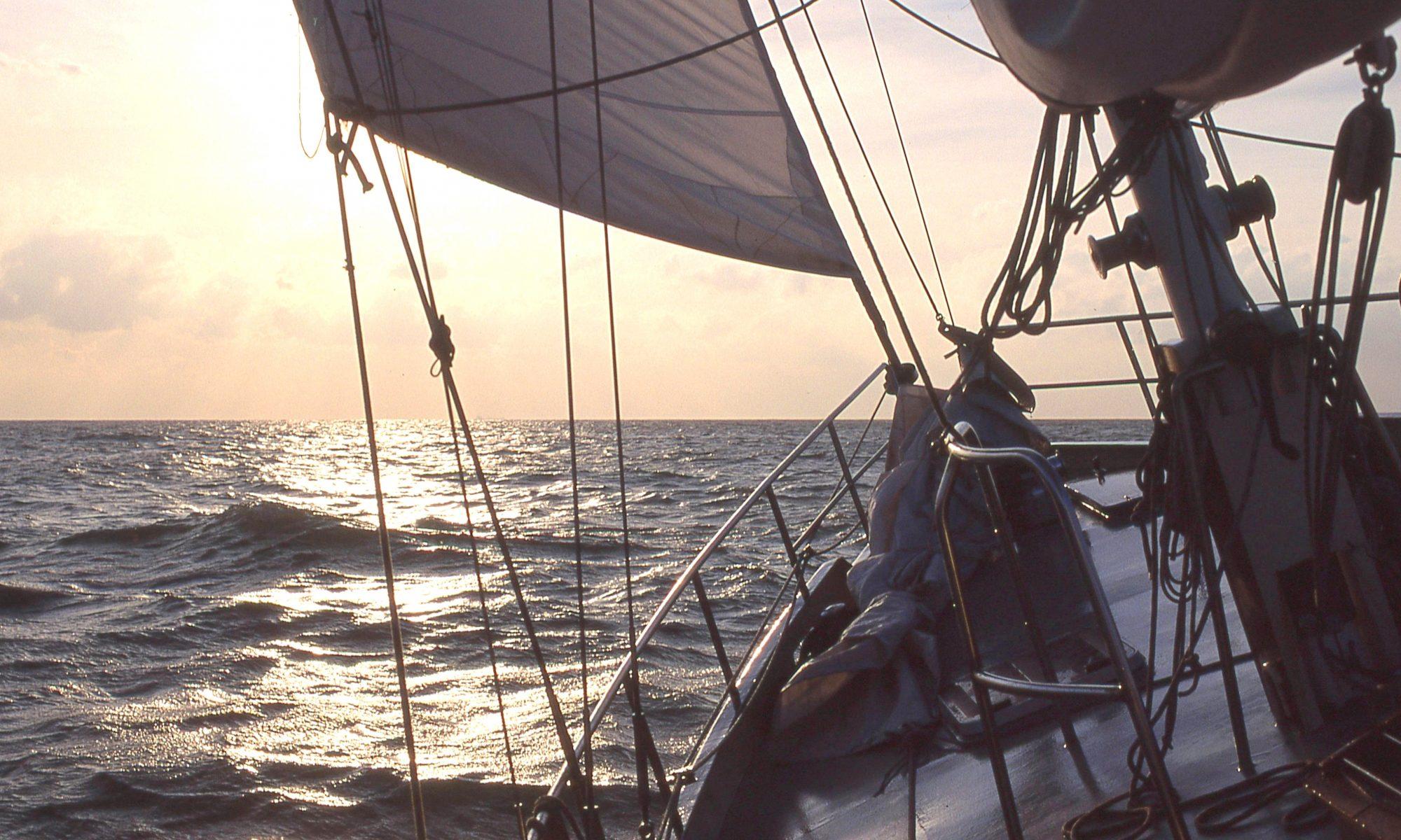 zeezeilen Noordzee